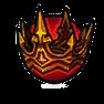 高級邪靈頭冠