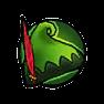 高級森綠皮帽