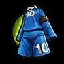 藍色足球服