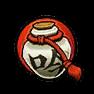 高級霸王丸酒壺