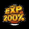 經驗 +200%