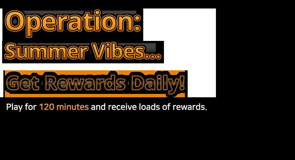 Operation: Twenty Nineteen! Get Reward Daily!