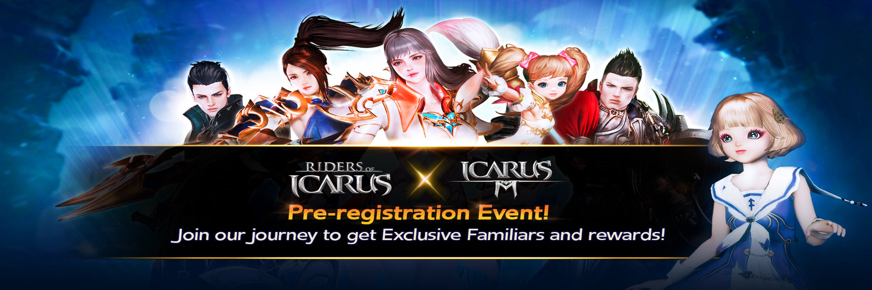 Pre-registration Icarus Mobile