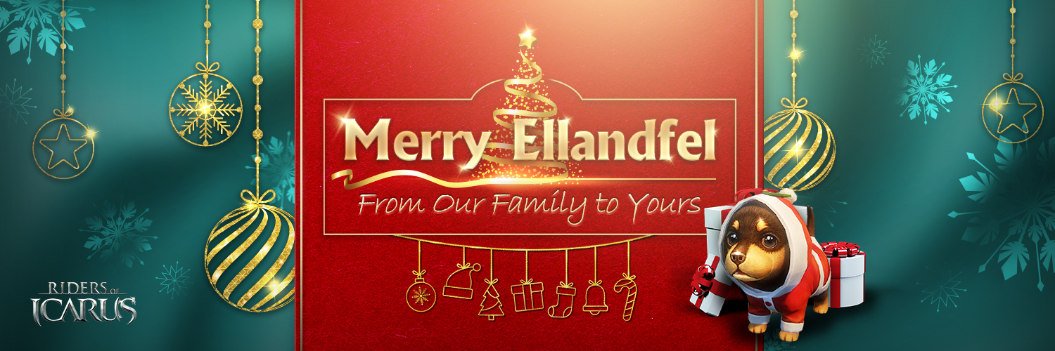 Merry Ellandfel Riders! From Our Family to Yours~